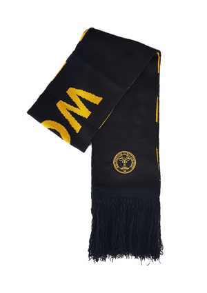 Wellington Girls College Scarf Black/Gold
