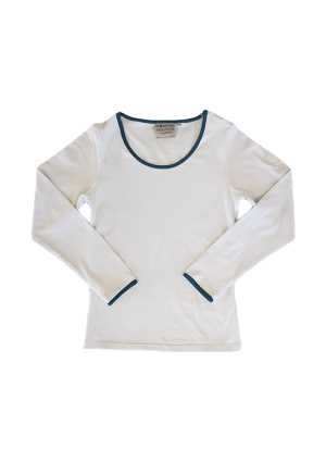Wellington Girls Long Sleeve Tee White